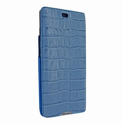 Piel Frama Samsung Galaxy Note 8 iMagnum Leather Case - Blue Cowskin-Crocodile