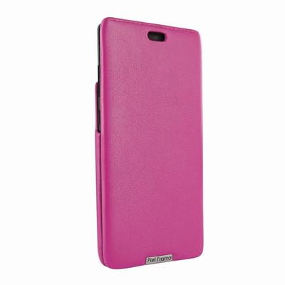 Piel Frama Samsung Galaxy Note 8 iMagnum Leather Case - Fuchsia