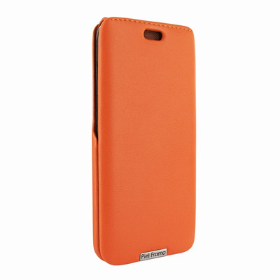Piel Frama Samsung Galaxy S8 Plus iMagnum Leather Case - Orange