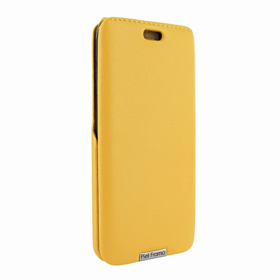 Piel Frama Samsung Galaxy S8 Plus iMagnum Leather Case - Yellow