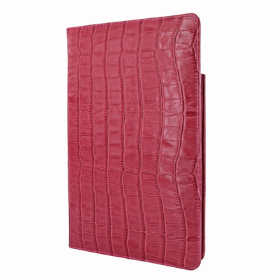Piel Frama iPad Mini 4 Cinema Leather Case - Fuchsia Cowskin-Crocodile