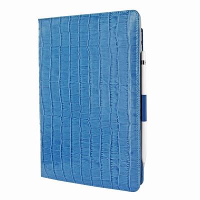 Piel Frama iPad Pro 10.5 Cinema Leather Case - Blue Cowskin-Crocodile