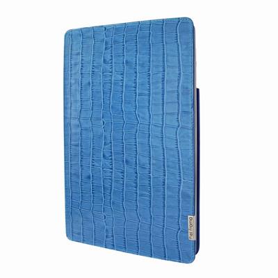 Piel Frama iPad Pro 10.5 FramaSlim Leather Case - Blue Cowskin-Crocodile