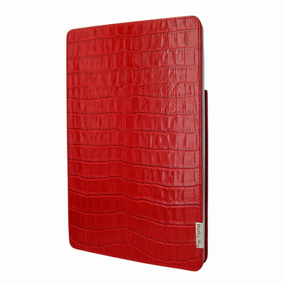 Piel Frama iPad Pro 12.9 2017 FramaSlim Leather Case - Red Cowskin-Crocodile