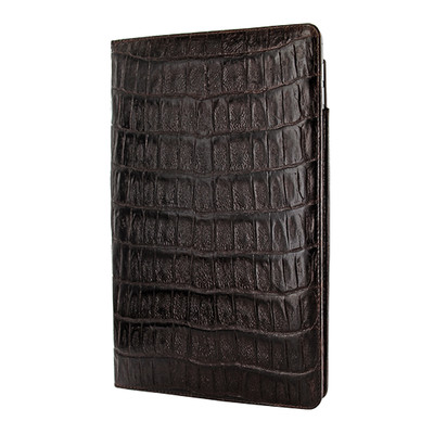 Piel Frama iPad Pro 12.9 2017 Cinema Leather Case - Brown Wild Cowskin-Crocodile