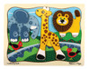 Zoo Crew - 9pc Wooden Layered Puzzle By Melissa & Doug (discon)