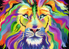 King of Technicolor - 1000pc Jigsaw Puzzle By Ravensburger