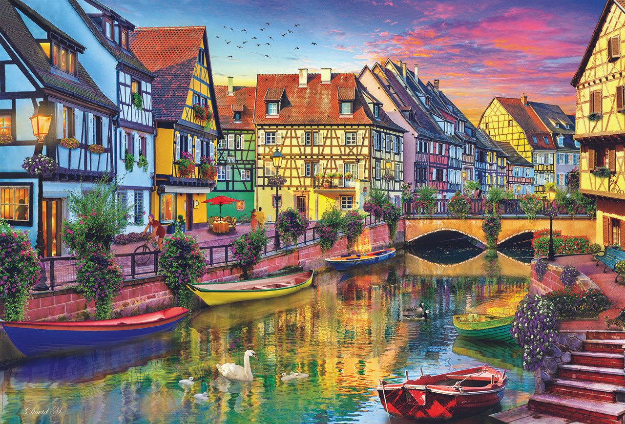 Colmar canal france 4000pc jigsaw puzzle by educa colmar canal france 4000pc jigsaw puzzle by educa gumiabroncs Images