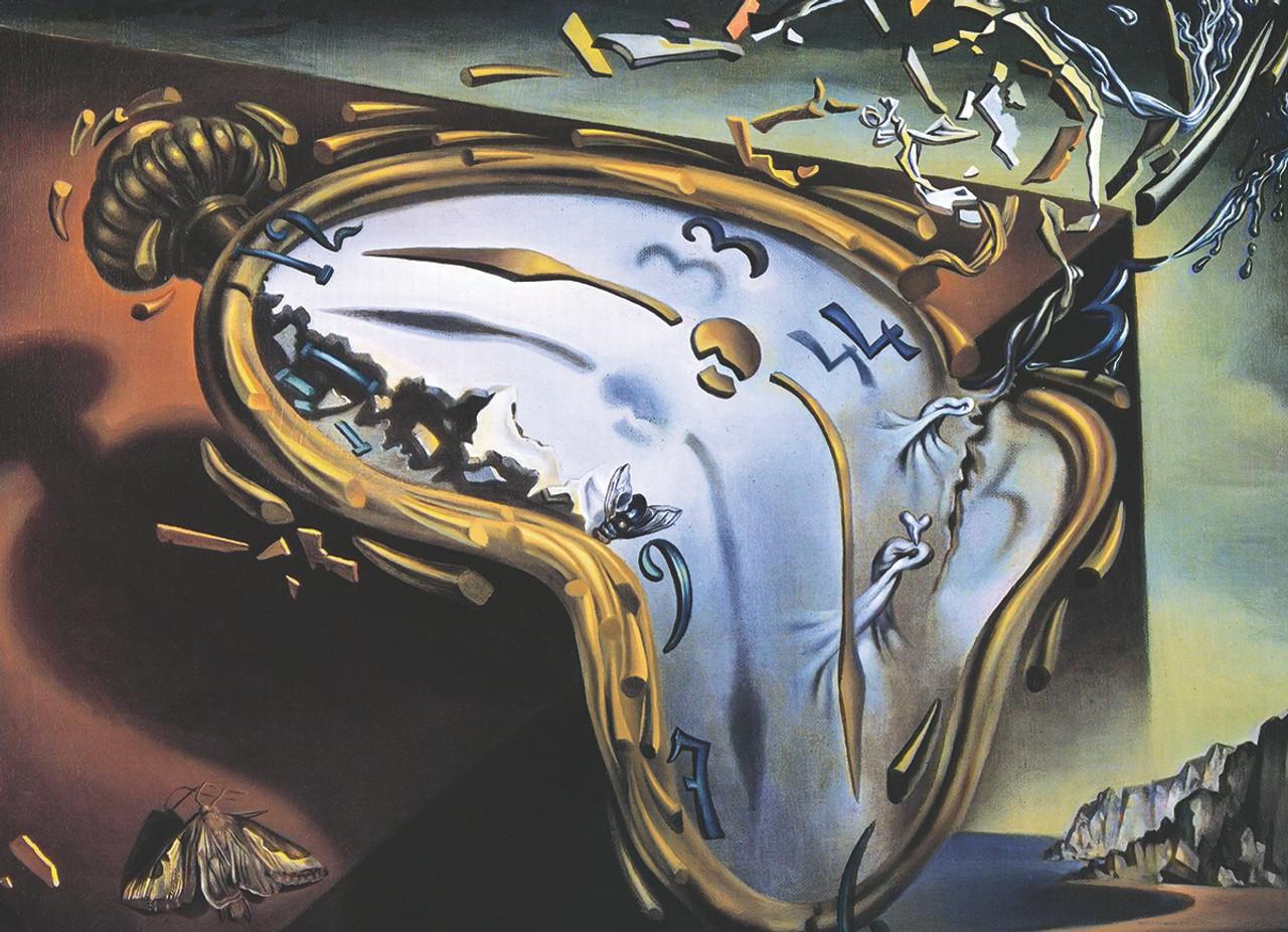 salvador dali melting clock 1000pc jigsaw puzzle by eurographics