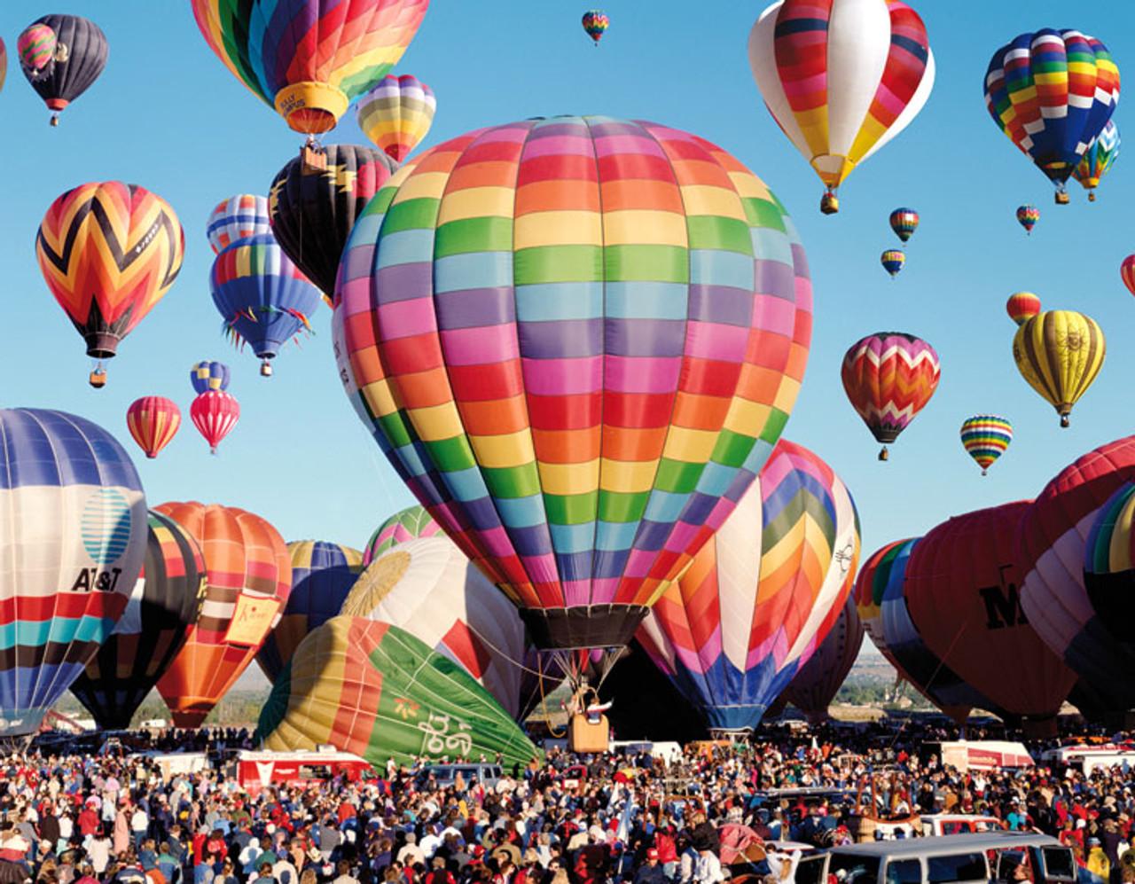 Mass Ascension at the Albuquerque Balloon Fiesta