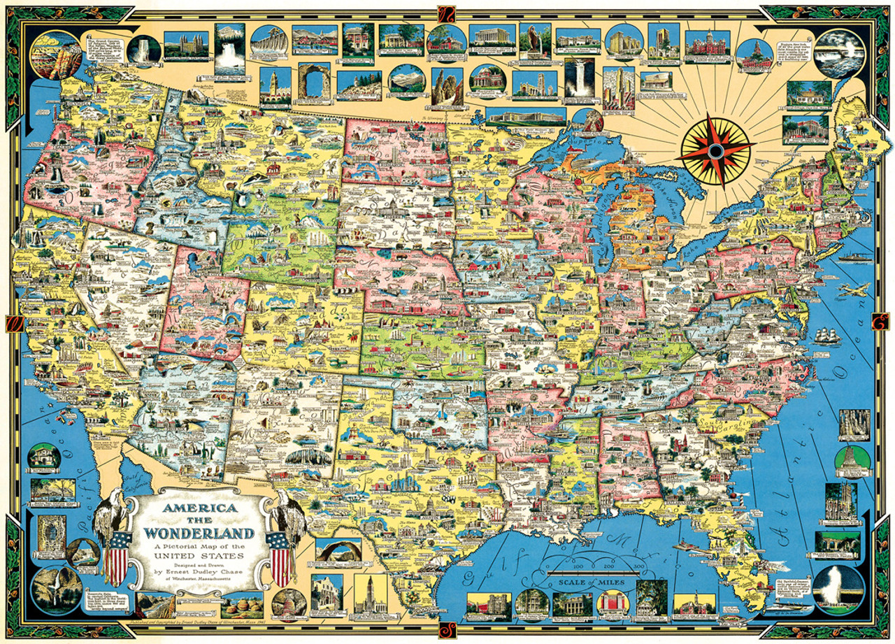 Xplorer usa map 1000pc jigsaw puzzle by masterpieces xplorer usa map 1000pc jigsaw puzzle by masterpieces gumiabroncs Image collections