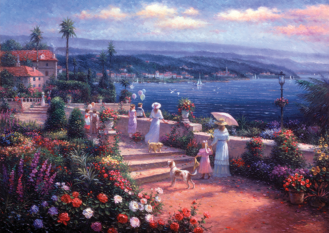 Perre Seaside View Jigsaw Puzzle