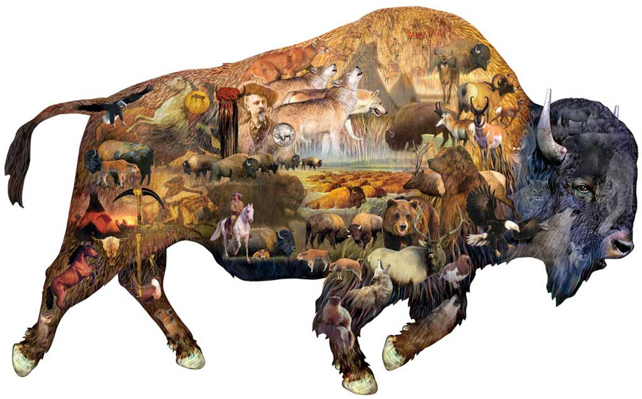 Prairie Dweller 1000pc Shaped Jigsaw Puzzle By Sunsout