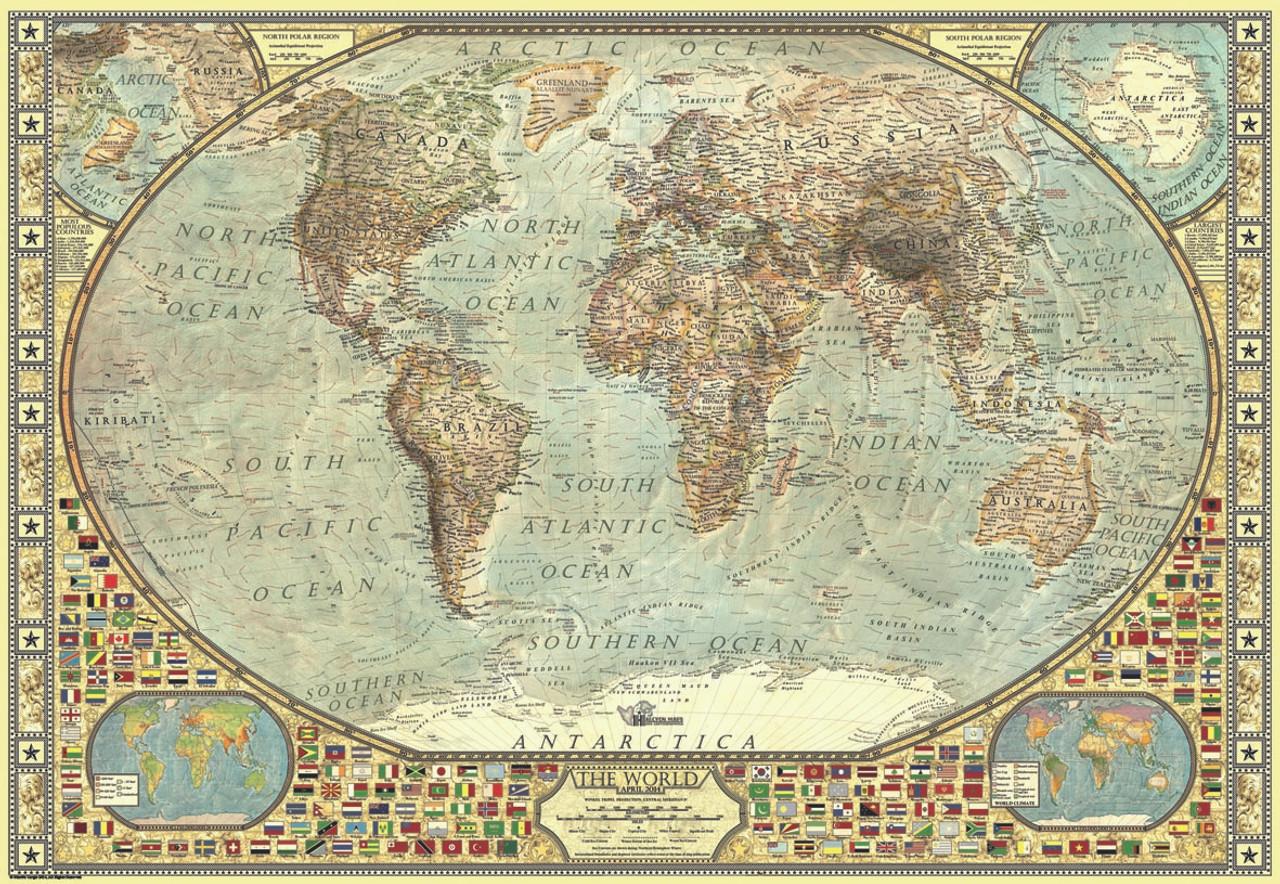 World map 2000pc jigsaw puzzle by anatolian seriouspuzzles world map 2000pc jigsaw puzzle by anatolian gumiabroncs Choice Image
