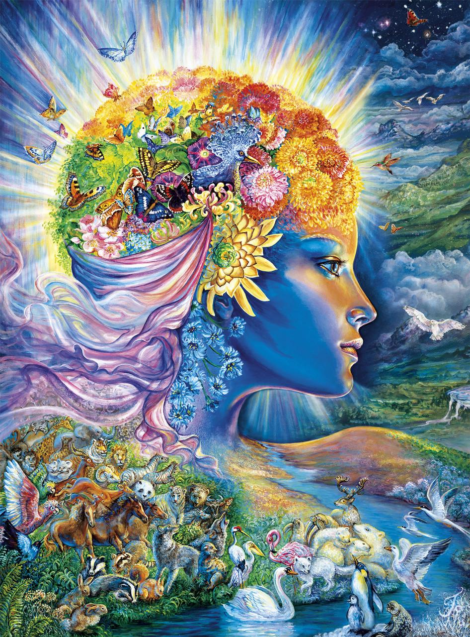 Josephine Wall The Presence Of Gaia 1000pc Jigsaw