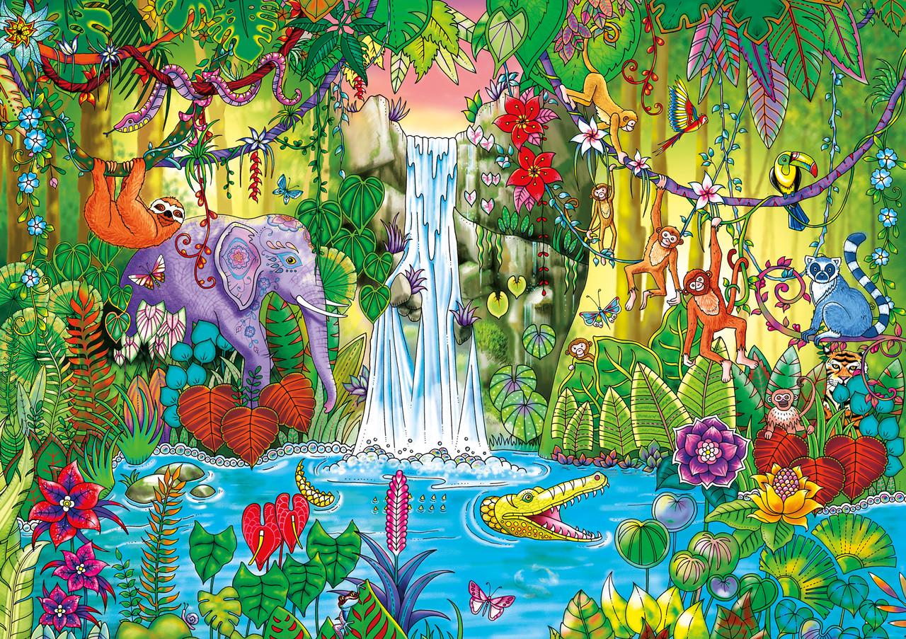 Magical Jungle Johanna Basford Wild Flowers 500pc