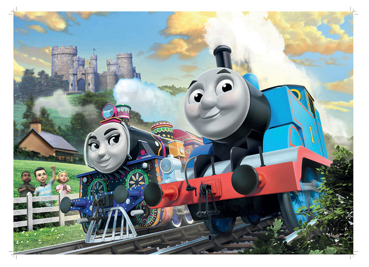 Thomas And Friends Thomas Amp Ashima 24pc Floor Puzzle By