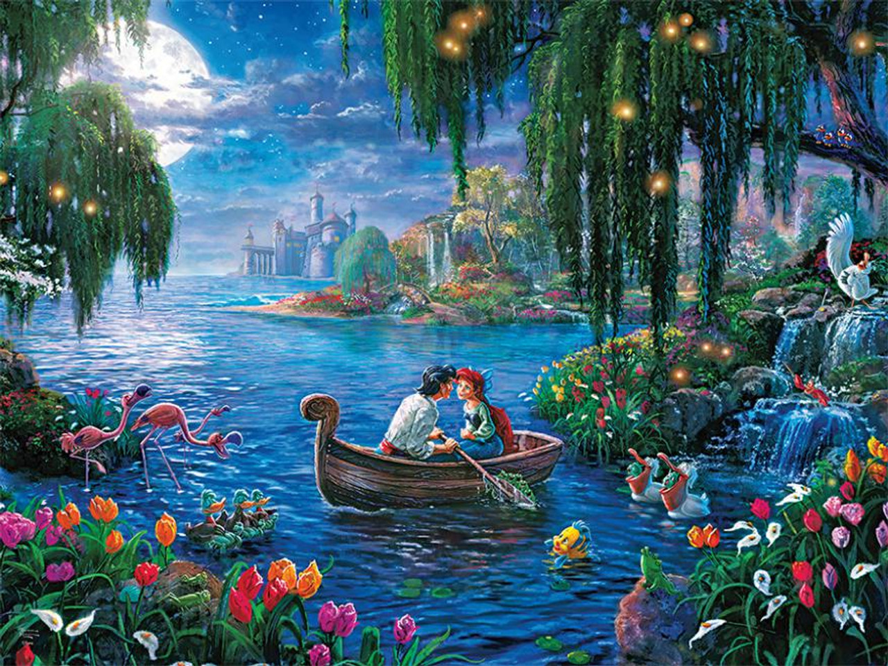 Thomas Kinkade Disney Princess Little Mermaid II 300pc