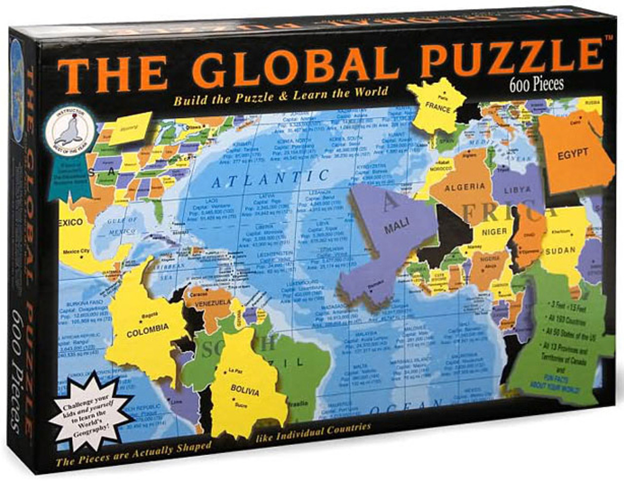 The Global Educational Jigsaw Puzzle   SeriousPuzzles.com