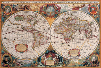 Educa political map of the world jigsaw puzzle seriouspuzzles antique world map 2595 political world map 1500pc jigsaw puzzle by educa gumiabroncs Images