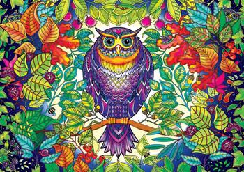SECRET GARDEN Johanna Basford FOREST OWL