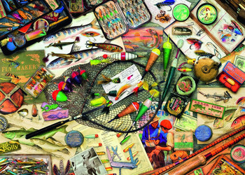Eurographics Salmon & Trout Jigsaw Puzzle   SeriousPuzzles.com