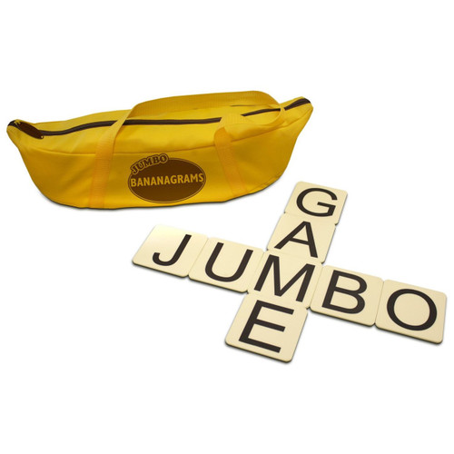 "Anagrams - Jumbo Bananagrams, 144 3"" Tiles"