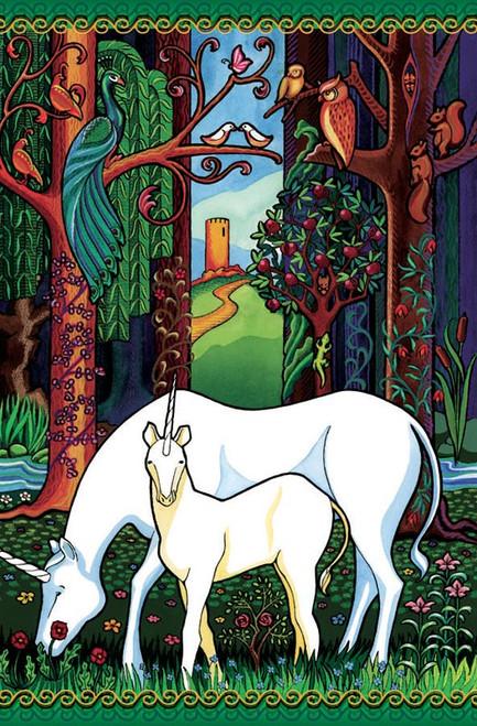 Unicorn Forest(discon) - 180pc Jigsaw Puzzle by Cobble Hill (discon)