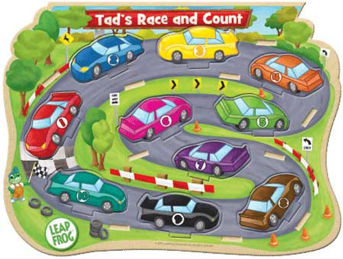 Leapfrog: Tad's Race & Count - 10pc Kids Puzzle by Masterpieces (discon)