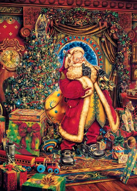 Christmas Presence - 500pc Jigsaw Puzzle by Masterpieces (discon)