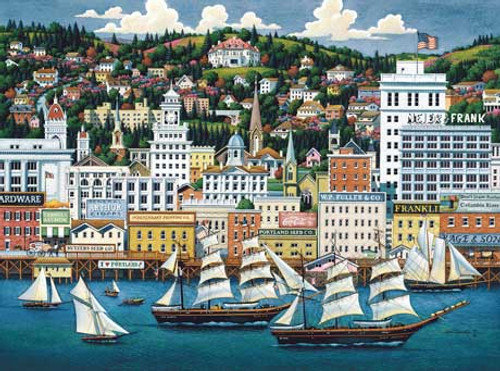 Portland - 500pc Jigsaw Puzzle by Masterpieces (discon)