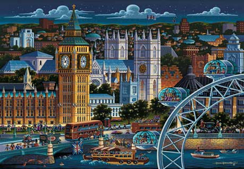 London - 500pc Jigsaw Puzzle by Masterpieces (discon)