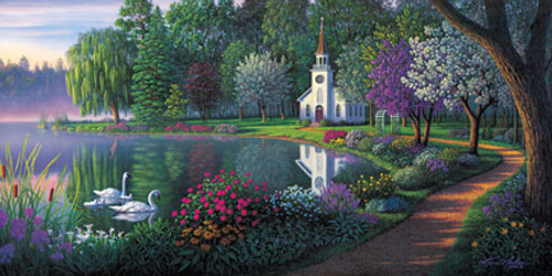 Sanctuary - 1000pc Panoramic Jigsaw Puzzle by Masterpieces (discon)