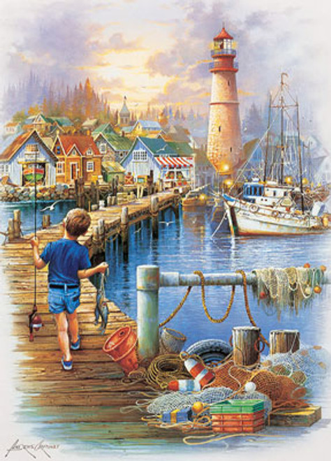 The Big Catch - 1000pc Jigsaw Puzzle by Masterpieces (discon)