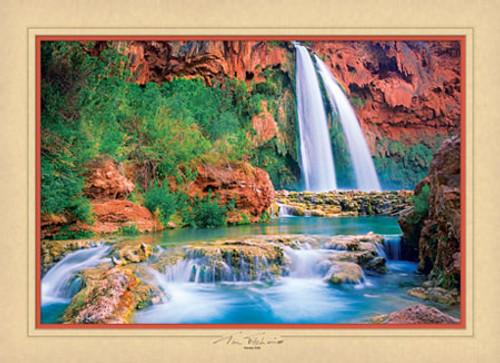 Havasu Falls - 1000pc Jigsaw Puzzle by Masterpieces (discon)