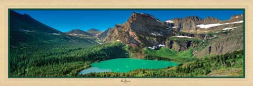 Emerald Oasis - 1000pc Panoramic Jigsaw Puzzle by Masterpieces (discon)