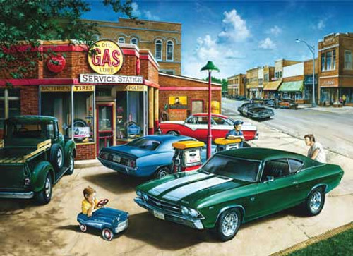 Muscle Car Dreams - 1000pc Jigsaw Puzzle by Masterpieces (discon)