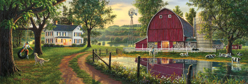 The Road Home - 1000pc Panoramic Jigsaw Puzzle by Masterpieces (discon)