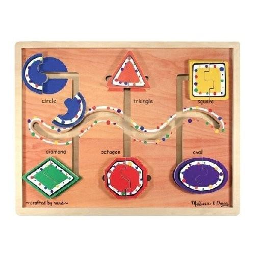 Geometric Shapes - Maze By Melissa & Doug (discon)