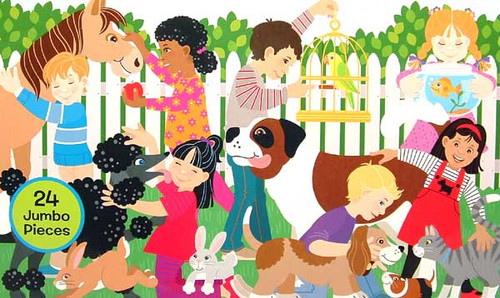 Melissa and Doug Floor Puzzles - Backyard Pets