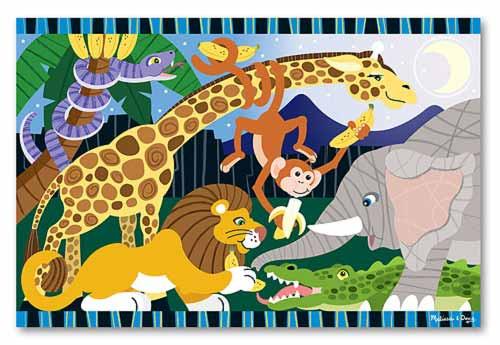 Melissa and Doug Floor Puzzles - Safari Social