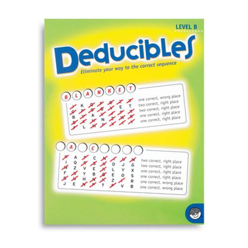 Deducibles Level B - Puzzle Book By Mindware (discon)