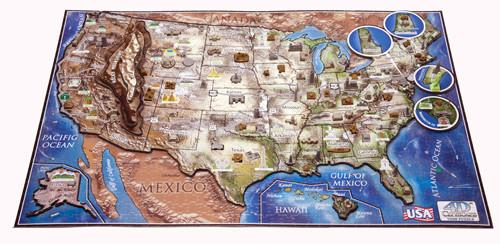 Jigsaw Puzzle - USA