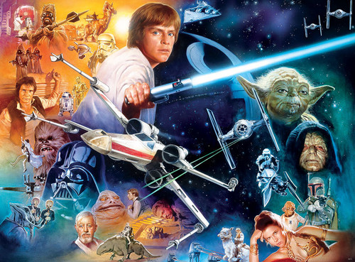 Star Wars: The Force Will Be With You... Always - 1000pc Jigsaw Puzzle by Buffalo Games