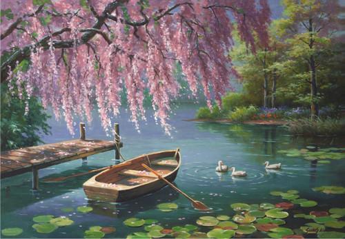 Anatolian Willow Spring Beauty Jigsaw Puzzle