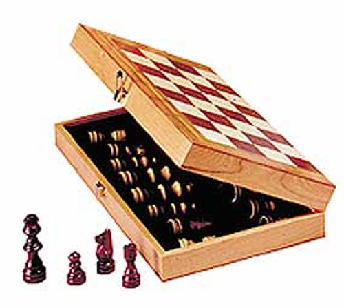 """Game Sets - Chess in a Box with 10.5"""" Board"""