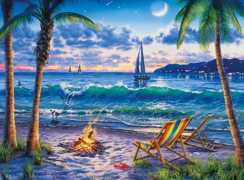Darrell Bush: Coastal Twilight - 1000pc Jigsaw Puzzle by Buffalo Games