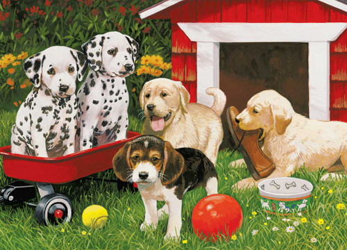 Jigsaw Puzzles for Kids - Puppy Party