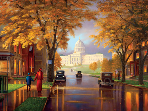 Serendipity Jigsaw Puzzles - Autumn At The Capital