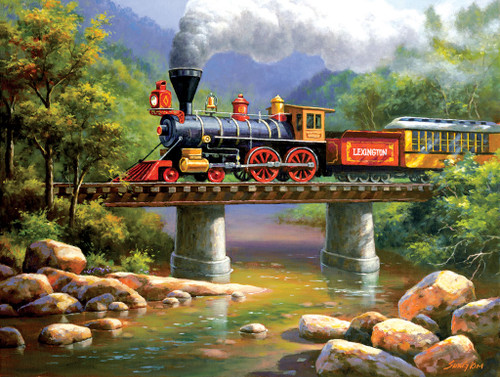 The Lexington Express - 500pc Jigsaw Puzzle by Sunsout